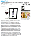 Ipad wine menus