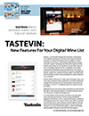 Tastevin new features thumb